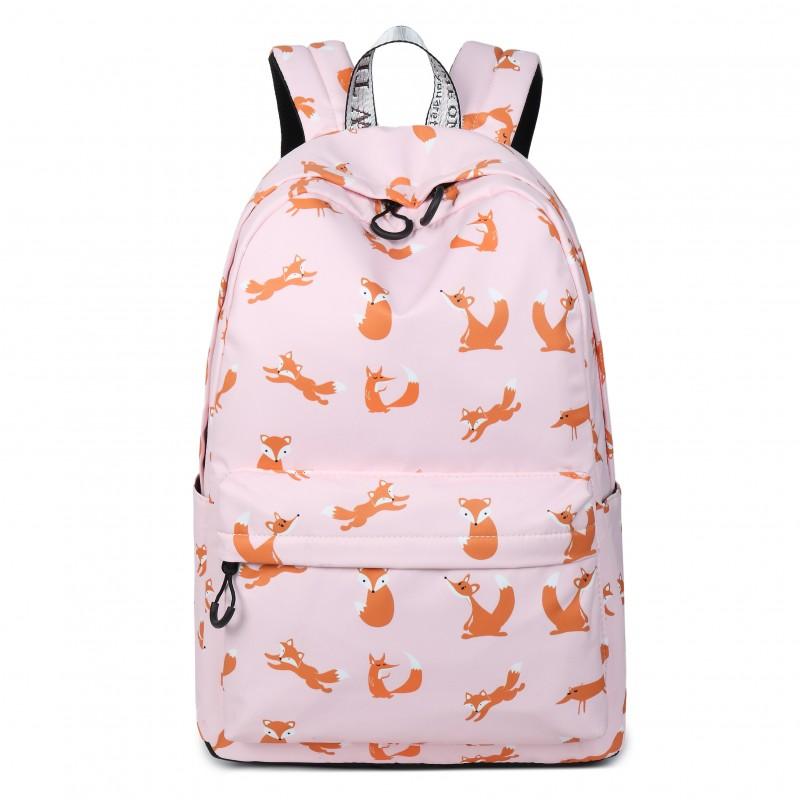 "Рюкзак ""Лисички"" розовый"