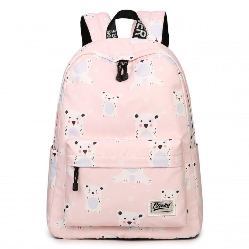 """Рюкзак """"Мишки"""" розовый"""