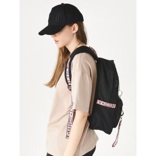 Рюкзак «Молодёжный» чёрный с розовым