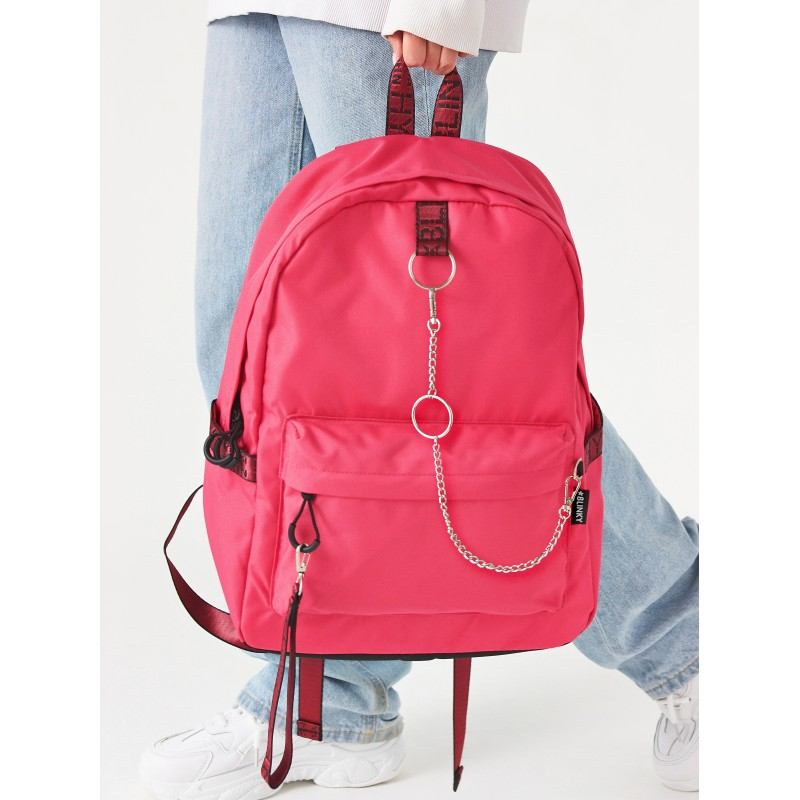 Рюкзак «Молодёжный» ярко-розовый