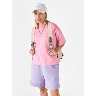 Рюкзак «Shh! Quiet!» розовый с кольцами