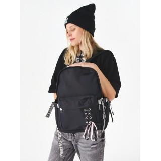 Рюкзак «Бантик» чёрный