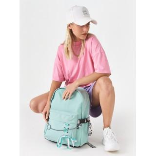 Рюкзак «Бантик» мятный
