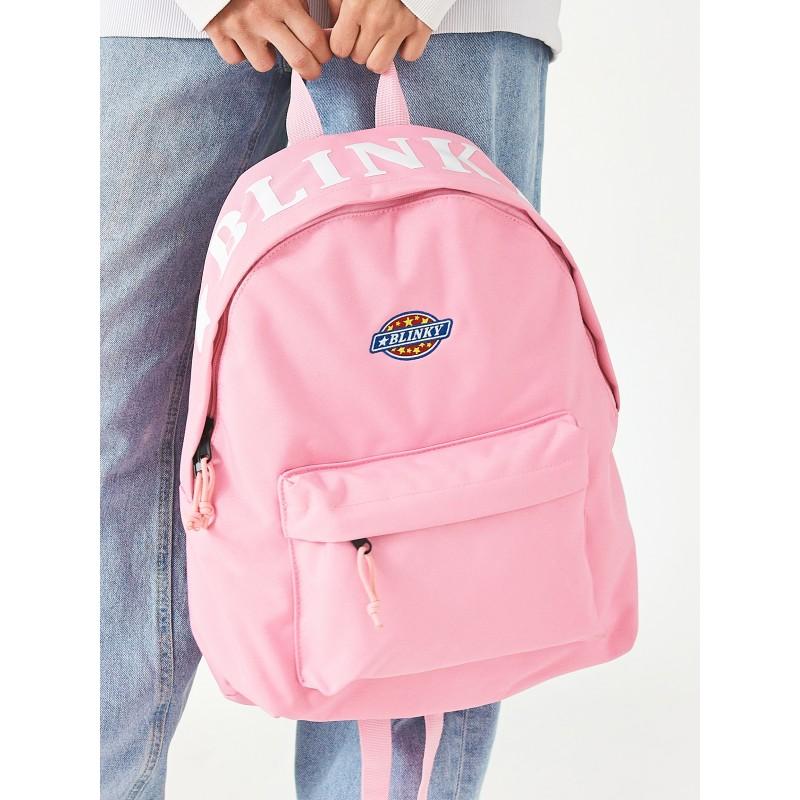 Рюкзак «Yankee» розовый с лентой