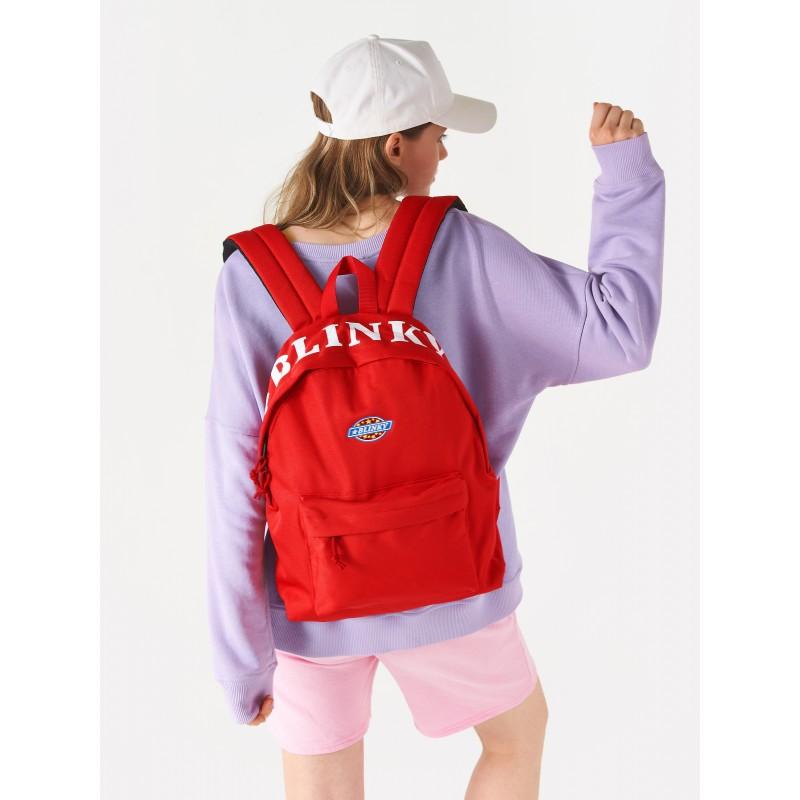 Рюкзак «Yankee» красный с лентой