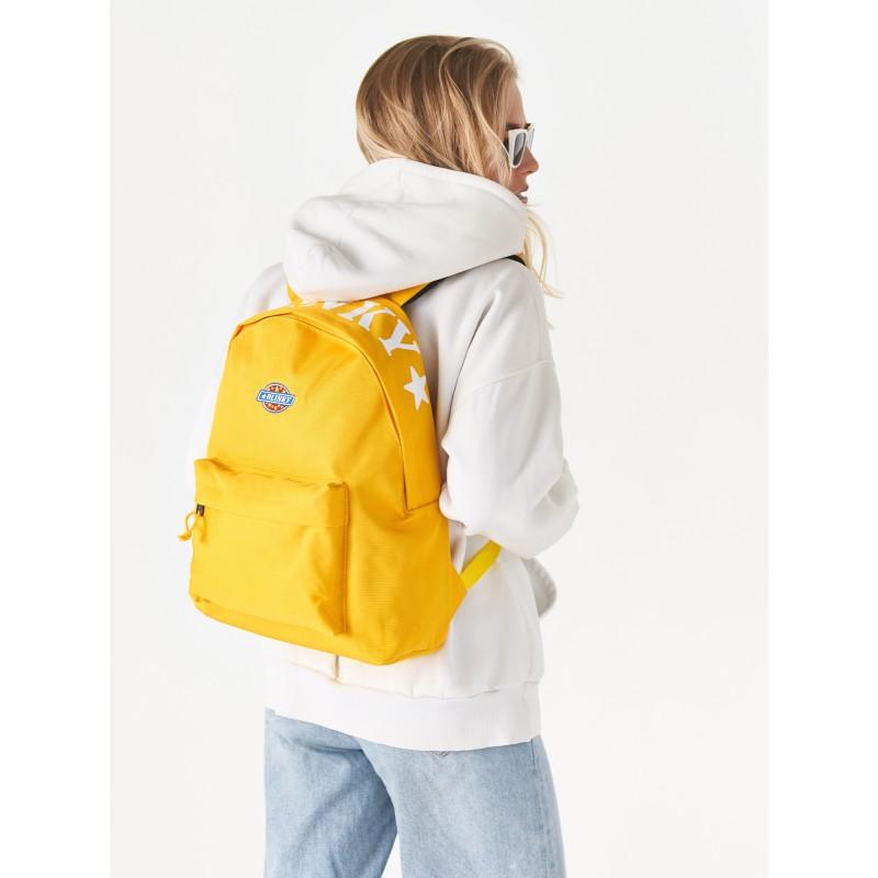Рюкзак «Yankee» желтый с лентой